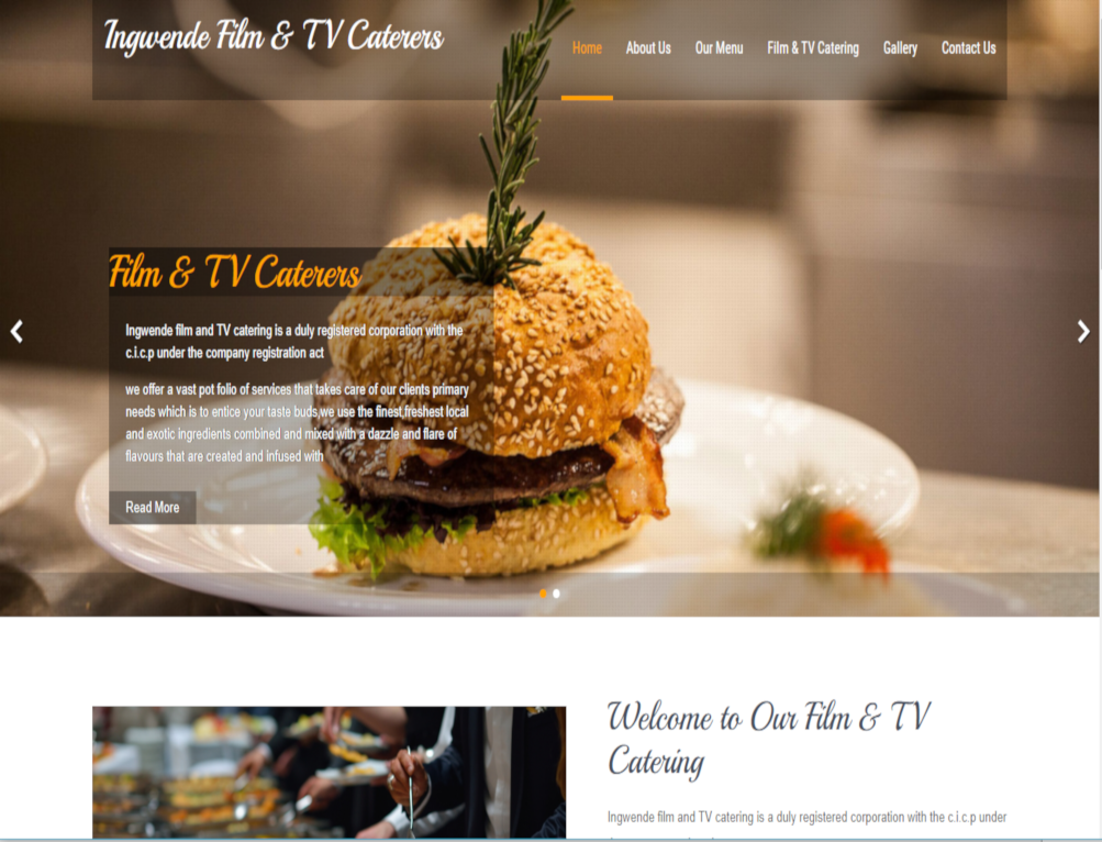 Ingwende film and TV catering