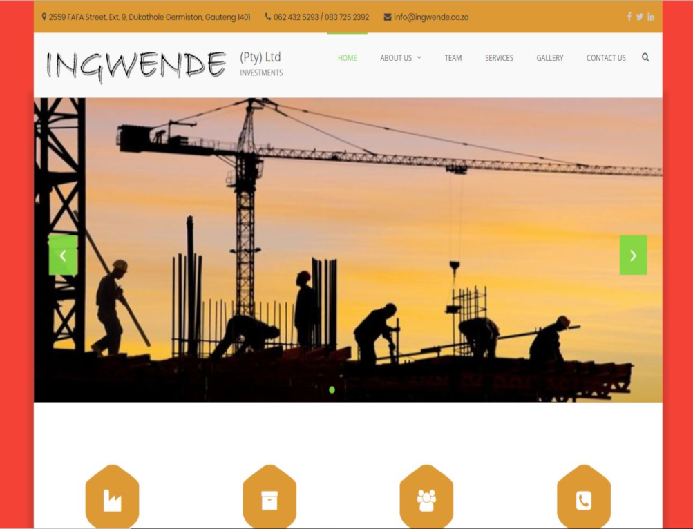 Ingwende Investment